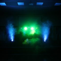 Festival Package Dj booth lights and smoke